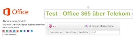 Test : Office 365 Installation mit Office 2013 via Telekom