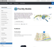 Samsung Handy orten mit: Find My Mobile