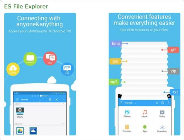 Link Sammlung: Android File Explorer und Installation APK