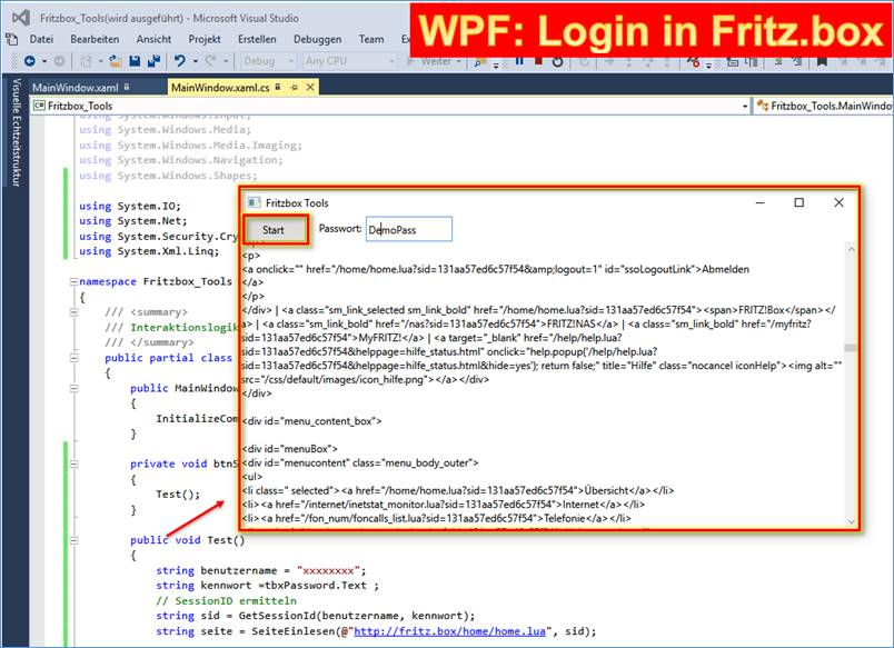Fritzbox desktop tool zum login in avm per code - Fritzbox 7330 login ...