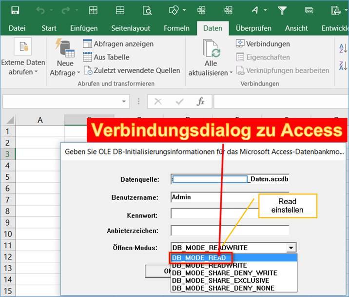 Excel Fehler Sie Haben Versucht Eine Datenbank Zu öffnen