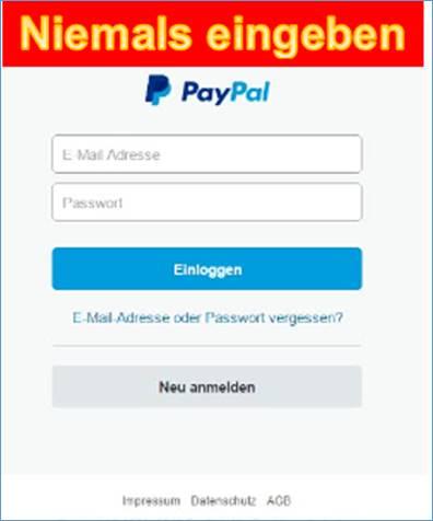 paypal online shops weltweit