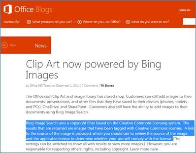 Hinzufügen von ClipArt zu Ihrer Datei - Office-Support