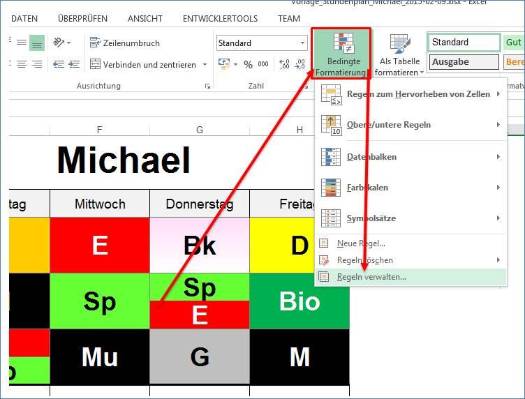 stundenplan als excel vorlage programmierer office 365