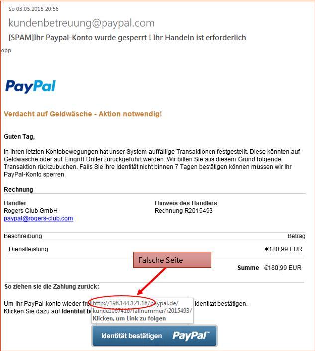 Www Pay Pal Konto De
