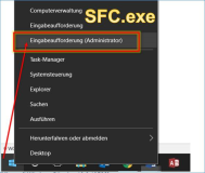 Windows 10: SFC.exe System File Check