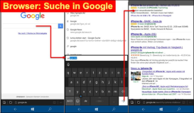 Windows 10 Mobile: Browser Maps Google Facebook Dateiexplorer Start