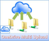 Erster Test OneDrive MultiDrive Cloud Uploader