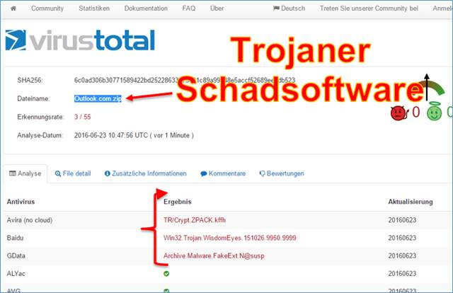 trojaner achtung vor rechnung rechtsanwalt mail media gmbh codedocu de blog. Black Bedroom Furniture Sets. Home Design Ideas