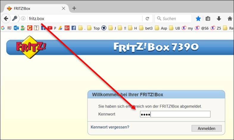 Avm fritzbox kennwort ndern programmierer sonstiges - Fritzbox 7330 login ...