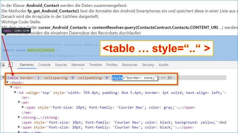 Vb net code html tags zur laufzeit in einem string for Table tag attributes in html