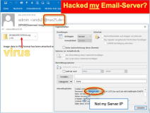 Hacked Emails: Mailenable Server   oder falsche IP