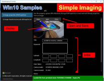 UWP Beispiel: Simple Imaging, Images Pictures