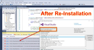 Visual Studio 2015: iAsyncAction Fehler nach Neu-Installation von Visual Studio