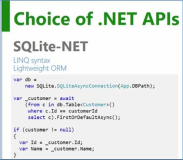 UWP: SQLite Datenbank in Universal Windows App