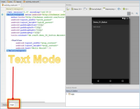 Android IDE: Wo finde ich die Toolbox, UI Elemente, UI Controls in Android Studio?