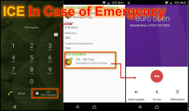 Android Setup: ICE In Case of Emergency