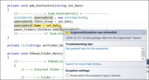 WPF, Error: UserControl.Name nicht mit Bindestrich