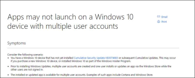 Windows Store reparieren: Multiple User Accounts Troubleshooter