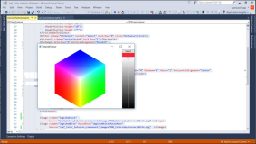 WPF Color Picker on a White-Black Color Cube