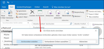 Outlook Autoarchivierung
