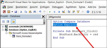 Vba: Option Explicit