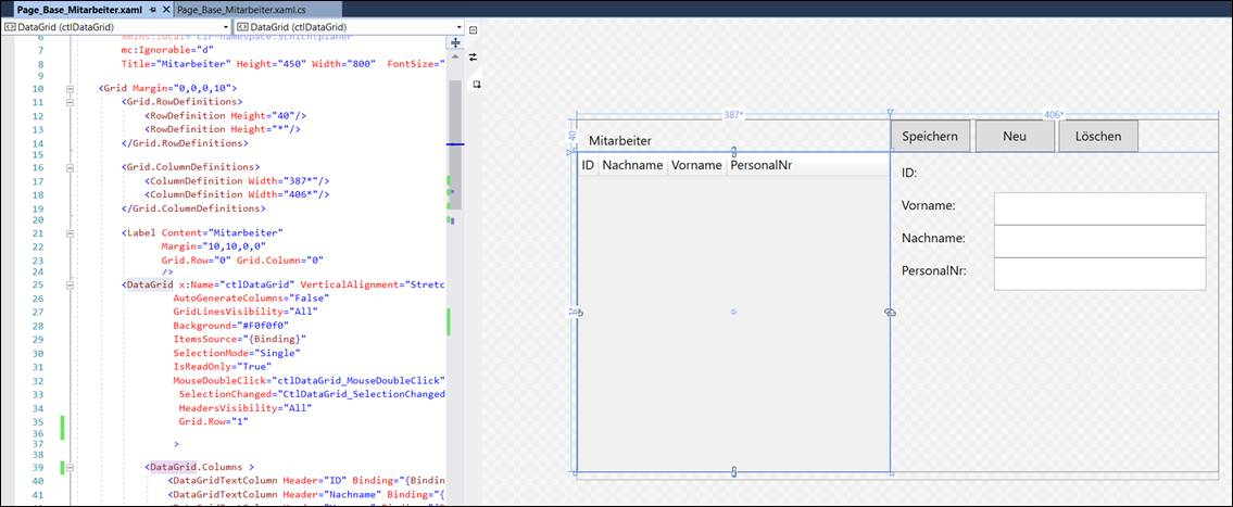 Wpf Grid Rowdefinition Height Binding Grid rows arent the