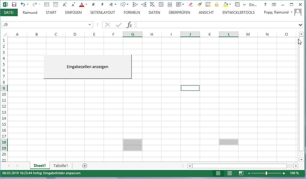 Excel Vba Makro Anzeigen Aller Entsperrten Zellen At Codedocude