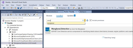Client Auswertung mit Wangkanai Detection