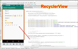 Android RecyclerView: komplettes Code-Beispiel