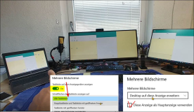 Einstellen bei mehreren Monitoren in Windows 10